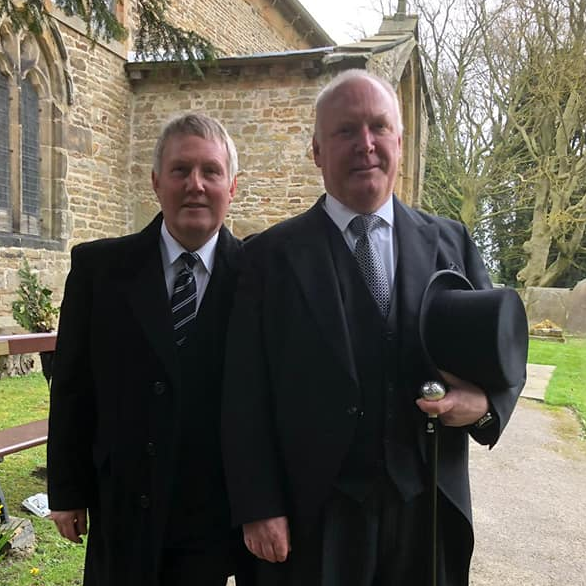 Funeral Directors Mansfield Chris and Mick